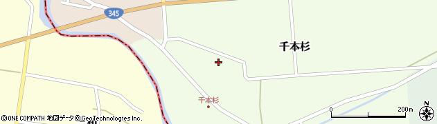 山形県東田川郡庄内町千本杉本村割9周辺の地図