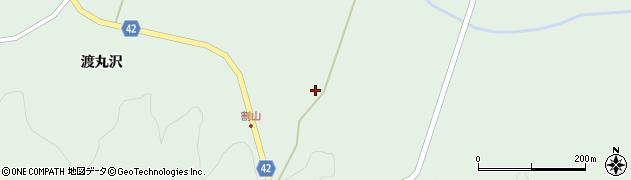 宮城県栗原市栗駒片子沢鳥木沢周辺の地図