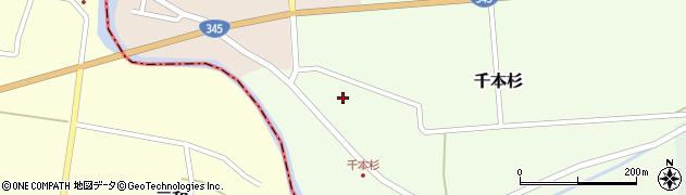 山形県東田川郡庄内町千本杉本村割6周辺の地図