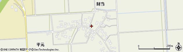 山形県鶴岡市平田周辺の地図