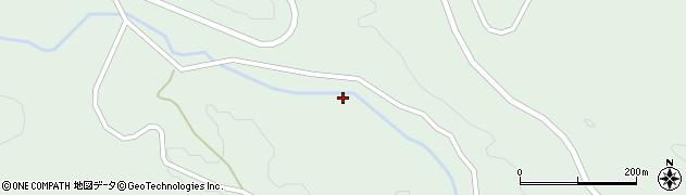 山形県東田川郡庄内町狩川上大揚周辺の地図