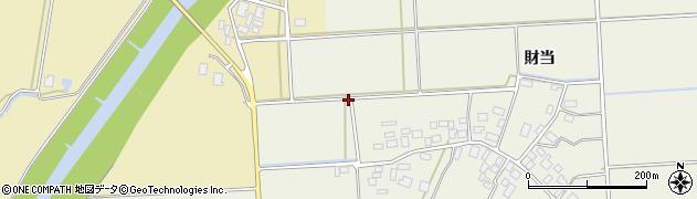 山形県鶴岡市平田(披栄田)周辺の地図