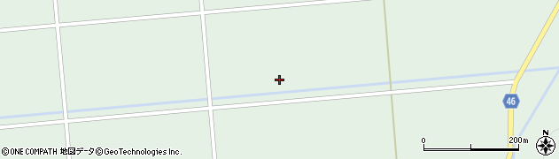 山形県東田川郡庄内町狩川下沓形周辺の地図