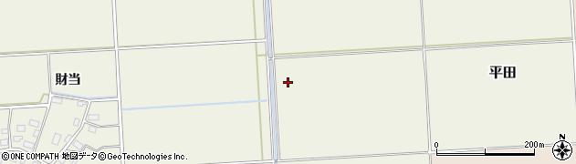 山形県鶴岡市平田(中之瀬)周辺の地図