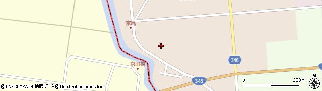 山形県東田川郡庄内町京島海道端周辺の地図