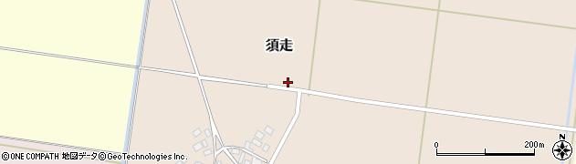 山形県鶴岡市須走(水尻)周辺の地図