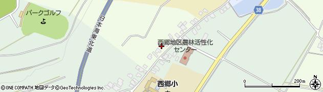 山形県鶴岡市千安京田(龍花山)周辺の地図