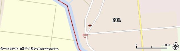山形県東田川郡庄内町京島京田133周辺の地図
