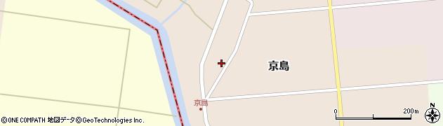 山形県東田川郡庄内町京島京田34周辺の地図