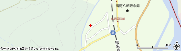 山形県東田川郡庄内町清川上川原10周辺の地図