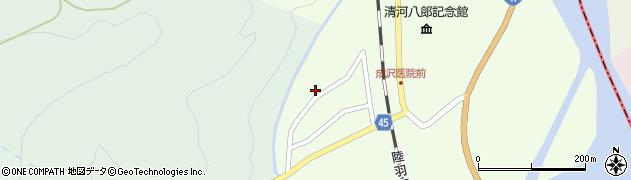 山形県東田川郡庄内町清川上川原11周辺の地図