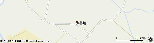 宮城県栗原市栗駒栗原大谷地周辺の地図