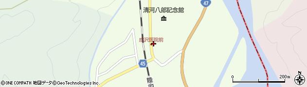 山形県東田川郡庄内町清川上川原33周辺の地図