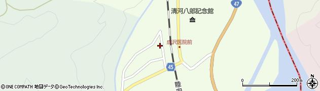 山形県東田川郡庄内町清川上川原16周辺の地図