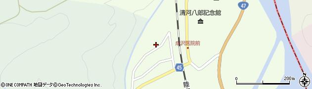 山形県東田川郡庄内町清川上川原19周辺の地図
