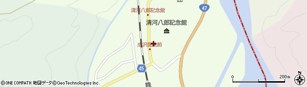 山形県東田川郡庄内町清川上川原35周辺の地図
