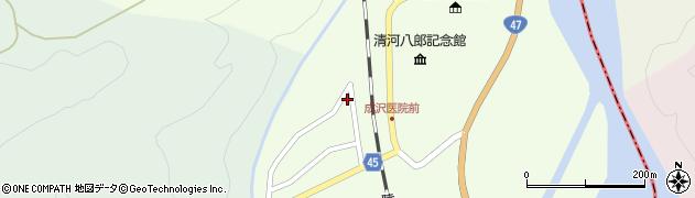山形県東田川郡庄内町清川上川原17周辺の地図