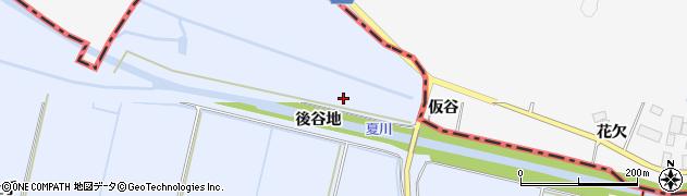 宮城県栗原市若柳武鎗新向原周辺の地図