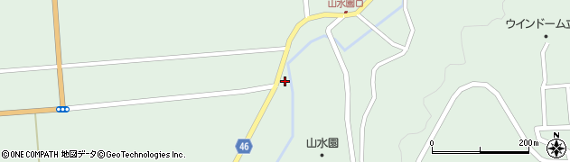 山形県東田川郡庄内町狩川玉坂97周辺の地図