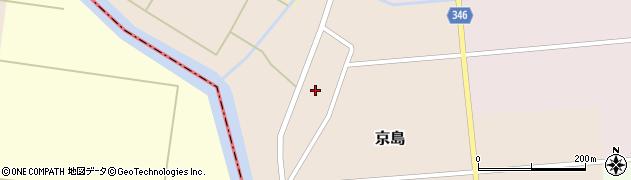 山形県東田川郡庄内町京島京田65周辺の地図