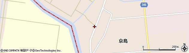 山形県東田川郡庄内町京島京田64周辺の地図