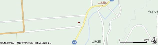 山形県東田川郡庄内町狩川玉坂109周辺の地図