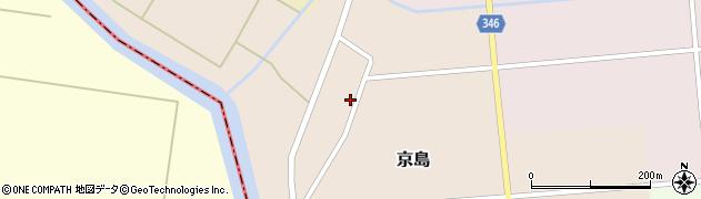 山形県東田川郡庄内町京島京田17周辺の地図
