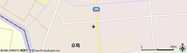 山形県東田川郡庄内町京島小麦畑4周辺の地図