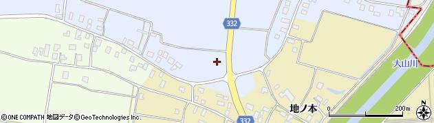 山形県鶴岡市辻興屋(腰前)周辺の地図