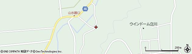 山形県東田川郡庄内町狩川玉坂5周辺の地図