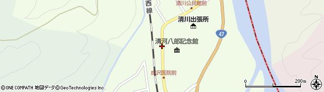 山形県東田川郡庄内町清川上川原50周辺の地図