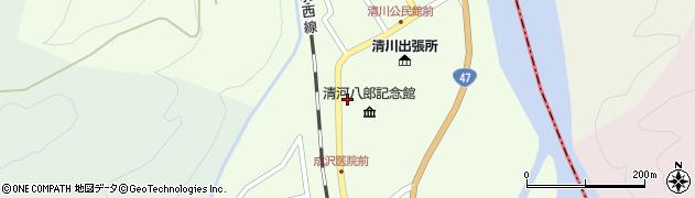 山形県東田川郡庄内町清川上川原48周辺の地図