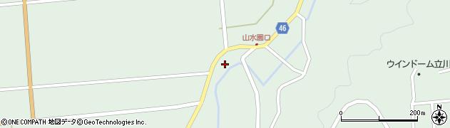 山形県東田川郡庄内町狩川玉坂84周辺の地図