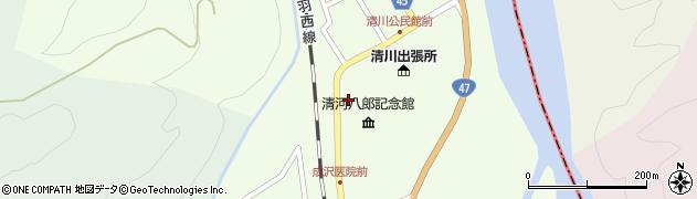 山形県東田川郡庄内町清川上川原49周辺の地図