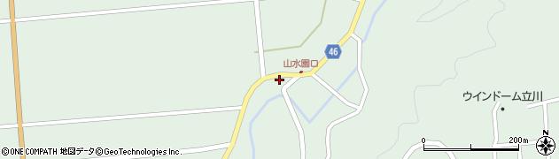 山形県東田川郡庄内町狩川玉坂80周辺の地図