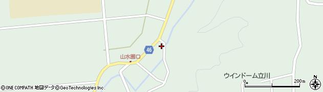 山形県東田川郡庄内町狩川玉坂32周辺の地図