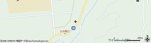 山形県東田川郡庄内町狩川阿古屋1周辺の地図