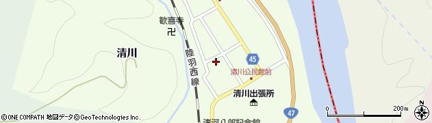 山形県東田川郡庄内町清川花崎138周辺の地図