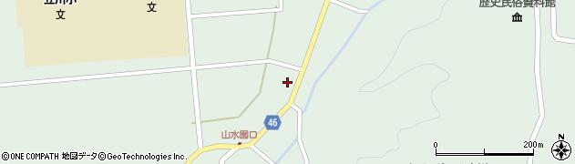 山形県東田川郡庄内町狩川阿古屋7周辺の地図