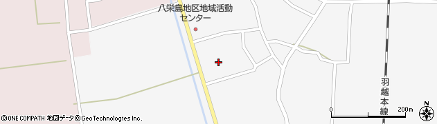 山形県鶴岡市八色木(西野)周辺の地図