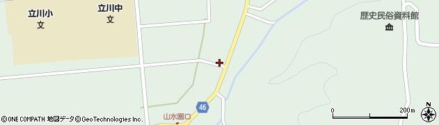 山形県東田川郡庄内町狩川阿古屋16周辺の地図