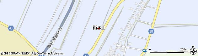 山形県鶴岡市辻興屋(街ノ上)周辺の地図