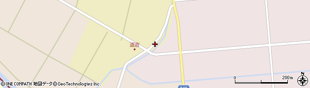 山形県東田川郡庄内町返吉高口2周辺の地図