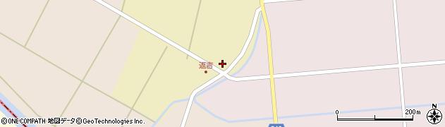 山形県東田川郡庄内町返吉高口28周辺の地図