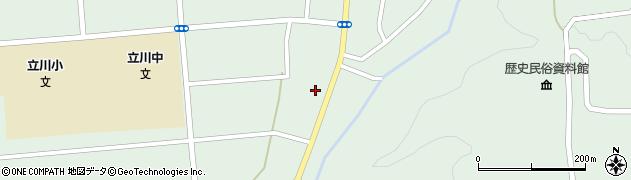 山形県東田川郡庄内町狩川阿古屋29周辺の地図