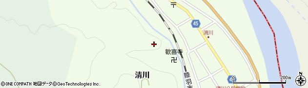 山形県東田川郡庄内町清川花崎227周辺の地図
