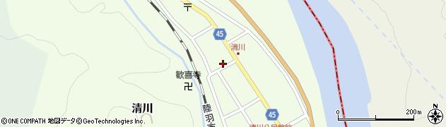 山形県東田川郡庄内町清川花崎119周辺の地図