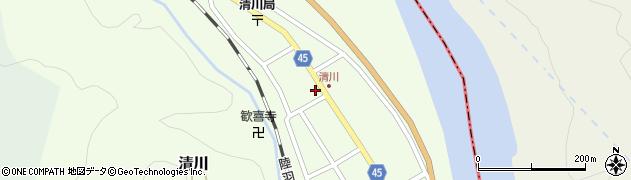 山形県東田川郡庄内町清川花崎79周辺の地図