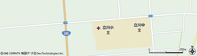山形県東田川郡庄内町狩川松葉20周辺の地図