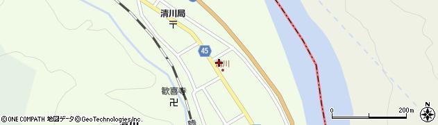山形県東田川郡庄内町清川花崎76周辺の地図